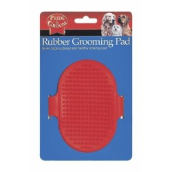 Pet Dog & Cat Grooming Pad Removes Dirt, Hair & Massagers by Play Pets