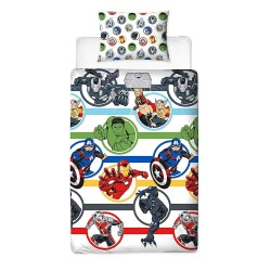 Marvel Avengers Strong Bed linen Duvet Cover 135x200+48x74cm