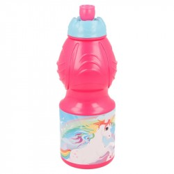 Unicorn Enhörning Vattenflaska Rosa Unicorn plastic bottle QEL672626 Unicorn 99,00 kr product_reduction_percent