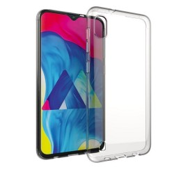 Samsung Galaxy A10 Suojakuori Soft TPU Case Ultra Slim Cover Transparent