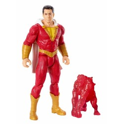 DC Comics Shazam! Handling Figur 15cm + Wrath Power Slingers