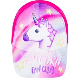 Unicorn Fan Club Cap One Size Hot Pink