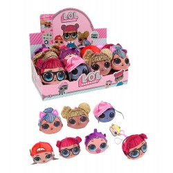 L.O.L. Surprise! LOL Plush Plysch 1st Mjukis Nyckelring Plånbok 10cm 1pc Fluky Purse Plush Assorted L.O.L. Surprise! 199,00 k...