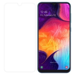 Samsung Galaxy A50 Tempered Glass Screen Protector Retail Package