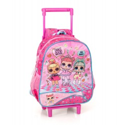 L.O.L. Surprise! LOL Mini Trolley Travel Bag Backpack 30x25x11 cm