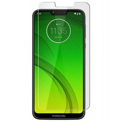 Motorola Moto G7 Power Tempered Glass Screen Protector Retail Package