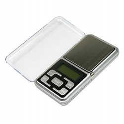 Digital Pocket Scale MH-200, 0.01gr - 200gr Silver