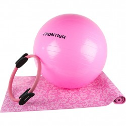 Frontier Pilates Set Training Stomach Sport Exercise Pink