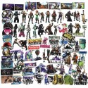 45pcs Fortnite Stickers Set Tarroja Vinyl
