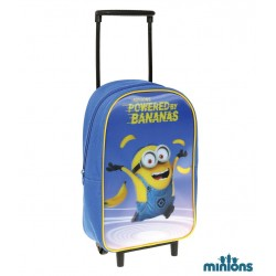 Minions 3D Effect Travel Bag Backpack 36 x 24 x 11cm