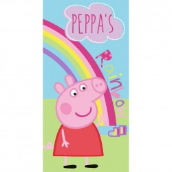 Peppa Pig Rainbow Kids Towel 140x70cm 100% Cotton