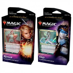 Magic T. Gathering - Throne Of Eldraine Planeswalker Deck 2-Pack MTG 2-Pack Eldraine Planeswalker Magic The Gathering 429,00 kr