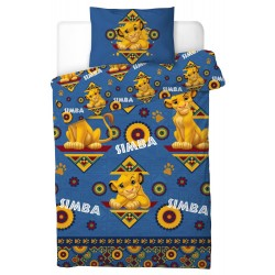 The Lion King Simba Pussilakanasetti Bed linen 135x200+50x75cm