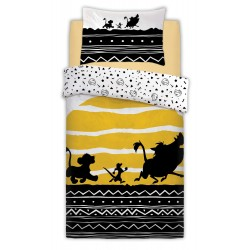 The Lion King Tribal Sunrise Pussilakanasetti Bed linen 135x200+48x74cm