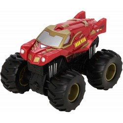 Hot Wheels Monster Jam Rev Tredz Iron Man Vehicle 12cm