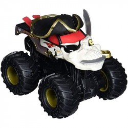 Hot Wheels Monster Jam Rev Tredz Pirate Vehicle 12cm