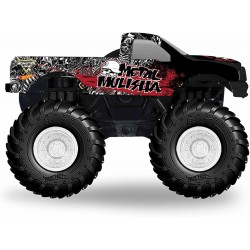 Hot Wheels Monster Jam Rev Tredz Metal Mulisha Vehicle 12cm