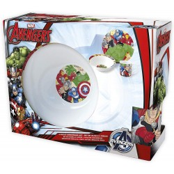 Marvel Avengers 3 in 1 Dinnerware Gift-Set Ceramic