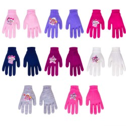 2-Pairs L.O.L. Surprise! LOL Glitter Gloves Children Mittens One Size