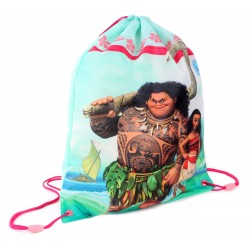 Disney Vaiana Island Girl & Maui Gym Bag Sport Bag 44x37cm