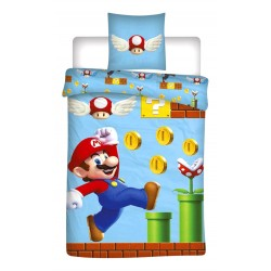 Super Mario Run Bed linen 140x200+65x65cm