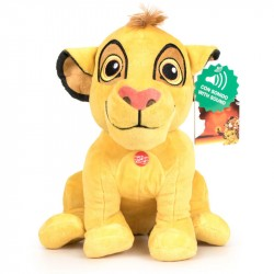 The Lion King Simba Soft Plush Toy With Sound 27cm