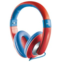 Trust Headphones Sonin Kids Red/Blue