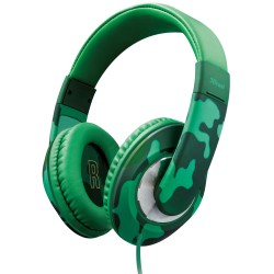 Trust Headphones Sonin Kids Jungle Green Camouflage