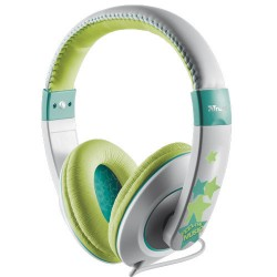 Trust Headphones Sonin Kids Grey/Turquoise