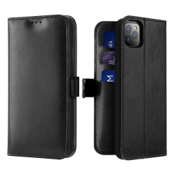Dux Ducis Kado Bookcase Wallet Case For iPhone 11 Pro Black