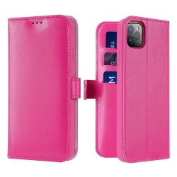 Dux Ducis Kado Bookcase Wallet Case For iPhone 11 Pro Pink