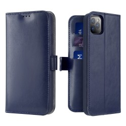Dux Ducis Kado Bookcase Wallet Case For iPhone 11 Pro Max Blue