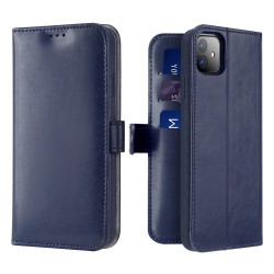 Dux Ducis Kado Bookcase Wallet Case For iPhone 11 Blue