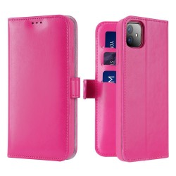 Dux Ducis Kado Bookcase Wallet Case For iPhone 11 Pink