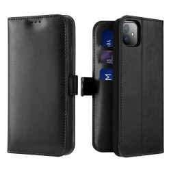 Dux Ducis Kado Bookcase Wallet Case For iPhone 11 Black