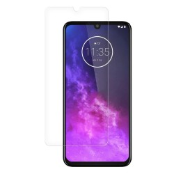 Motorola One Zoom Tempered Glass Screen Protector Retail Package