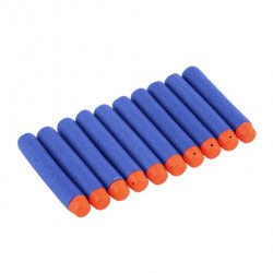 10pcs Elite Darts for use with Soft Foam Blasters(e.g. Nerf)
