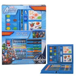 Marvel Avengers 52 Piece Art Set Big With Accessories