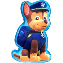 Paw Patrol Chase Pillow Pude Plys 30cm Blue