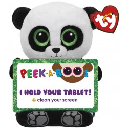 TY Peek-A-Boos Poo Panda Tablet Holder Plush 30cm
