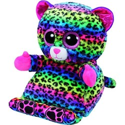 TY Peek-A-Boos Lance Leopard Tablet Holder Plush 30cm