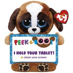 TY Peek-A-Boos Pups Dog Tablet Holder Plush 32cm
