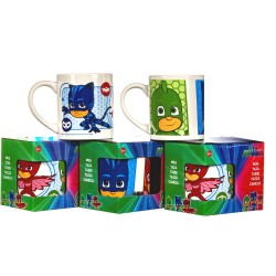2-Pack PJ Masks Mug Kopp Keramik Kattpojken Ugglis Gecko 2-Pack Pj Masks Mug 230ml PJ Masks 199,00 kr product_reduction_percent