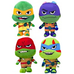 4-Pack Teenage Mutant Ninja Turtles Plysdyr Legetøj Plush 25-30cm