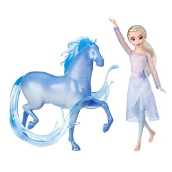 Disney Frozen 2 Elsa Fashion Doll And Nokk Horse Figure Nukke