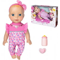 Luvabella Newborn Blonde Hair Interactive Baby Doll 35cm