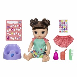 Baby Alive Potty Dance Baby Brunette Hair Doll 35cm