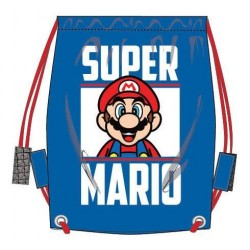 Super Mario Sports Bag, Gym Bag Swim 37x32cm