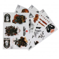 Call of Duty Black Ops 4 Gadget Decals 90pcs Re-usable Stickers