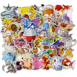 50st Pokemon Gadget Stickers Klistermärken Vinyl Återanvändbara Pokemon 50st Stickers GL 99,00 kr product_reduction_percent